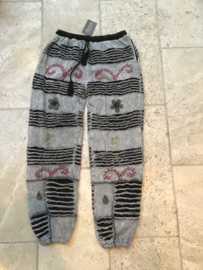 Nepal Broek Grey + Fleece