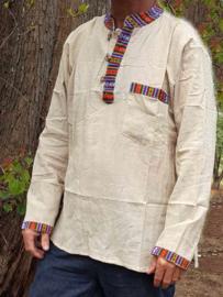 Nepal shirt met hennep