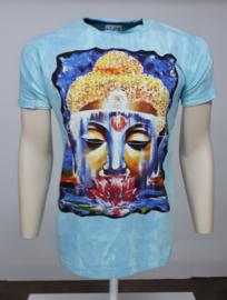 No Time T-Shirt Budda Blauw
