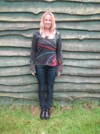 Shirt Bahini Black Stripe