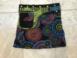 Wikkelrok Mandala Short