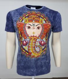 No Time T-Shirt Ganesha D Blue