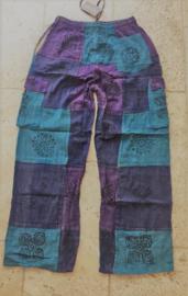 Nepal broek Blue - Purple