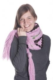 Pink Flower Sjaal