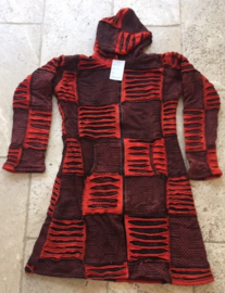 Red Patch Vest Looong