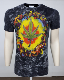 No Time T-Shirt Weed Leaf