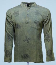 Nepal Shirt Faded Green