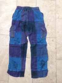 Nepal Broek Blue