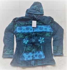 Blue Flower Nepal vest