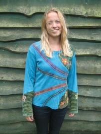 Shirt Bahini Blue Stripe