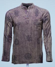 Nepal Shirt Faded Bruin