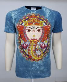 No Time T-Shirt Ganesha L Blue
