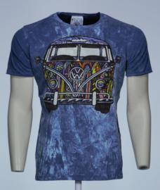 No Time T-Shirt VW Bus Blauw
