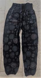 Nepal Mandala Yoga Broek Zwart