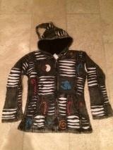 Funky Vest Black and White