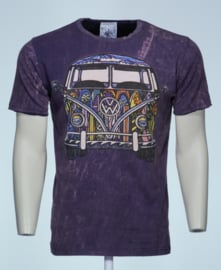 No Time T-Shirt VW Bus Paars