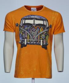 No Time T-Shirt VW Bus Oranje
