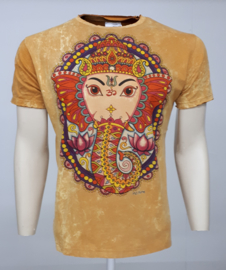 No Time T-Shirt Ganesha Gold