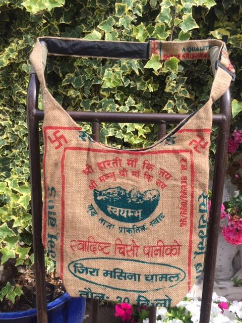 Jute Nepal tas 5
