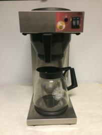 Koffiezet apparaat met dubbele kan