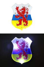 Broche Wapen van Limburg met ledlicht