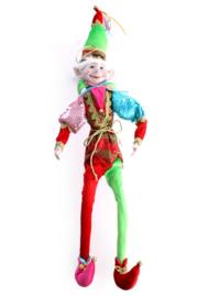 Clownspop pierette 67 cm groot