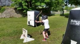 Dodgebow t/m 10 kinderen-inclusief begeleiding