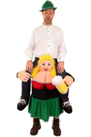 Gedragen door Tiroler vrouw one size( Tijdelijk uitverkocht)