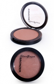 Pressed powder bronzer