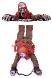 Kruipende zombie