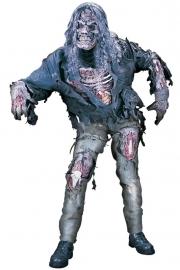 Zombie met handschoenen, masker en haar osfa