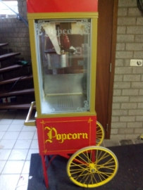 Goedkoop popcornmachine  in Limburg inclusief ingrediënten voor 50 personen