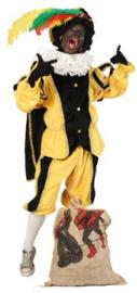 Pietenpak geel zwart(levertijd 2 werkdagen)
