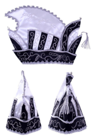Prinsenmuts ( zwart wit)