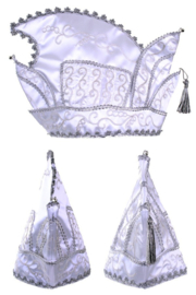 Prinsenmuts Wit  ( Leverbaar vanaf  ongeveer half januari)