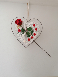 Decoratie LED hart  ( Levering op bestelling)