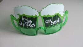 Bierbril (groen)
