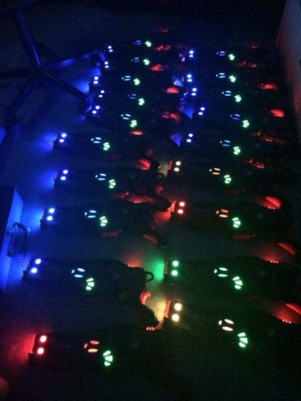 Meer dan 6 lasergeweren