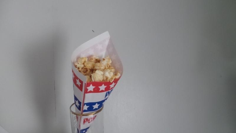 Popcornzakjes  50 stuks