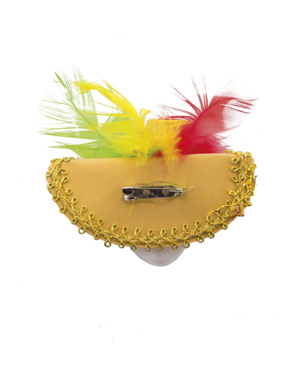 Venetiaans masker rood/geel/ groen