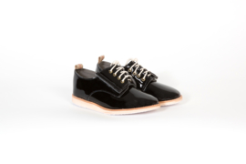Derby Kids Black Patent