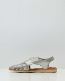 Derby Slingback Punch Silver