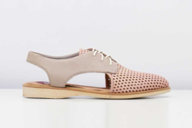 Derby Slingback Punch Blush Stone