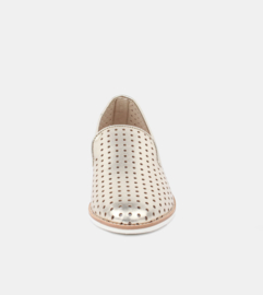 Loafer Punch Light Gold