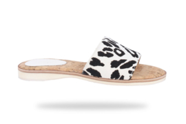 Sandal Slide White Wild Cat