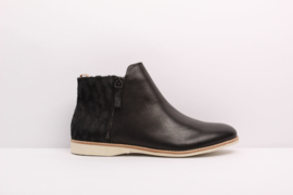 Sidezip Boot Black Giraffe