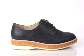 Derby Midsole Cork Navy