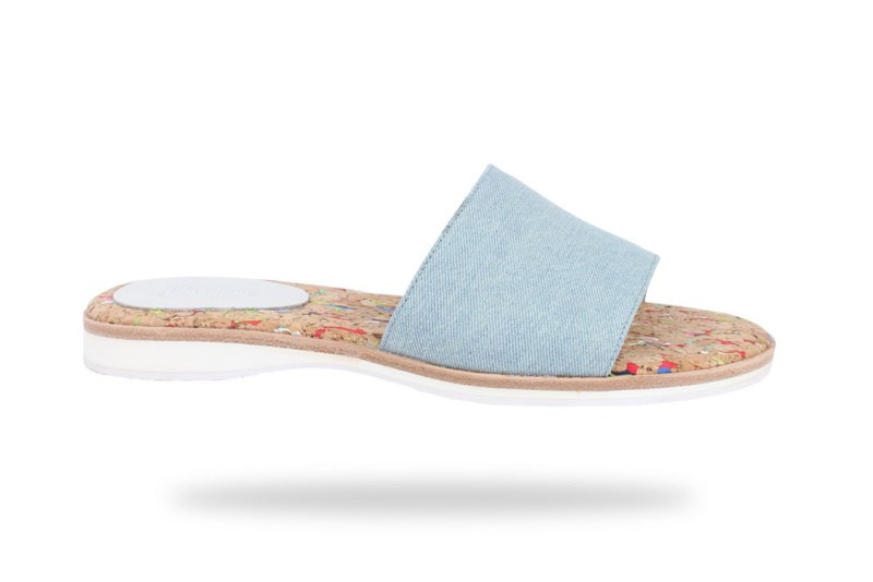 Sandal Slide Denim
