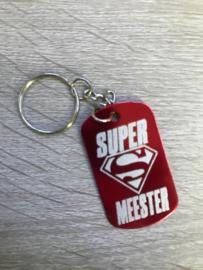 Sleutelhanger Supermeester
