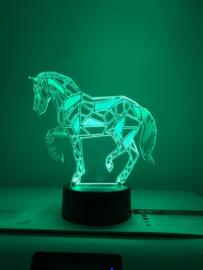 Led verlichting paardje